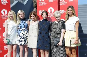 Dakota Fanning, Kirsten Dunst, Kate Mara, Felicity Jones at Miu Miu Womens Tales premiere @ 71st Venice Film Festival August 28