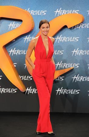 Irina Shayk European premiere of Hercules in Berlin August 21, 2014