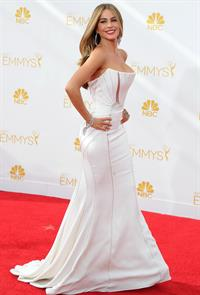 Sofia Vergara at the 66th annual Primetime Emmy Awards, August 25, 2014
