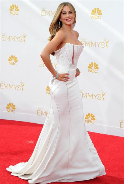 Sofia Vergara at the 66th annual Primetime Emmy Awards, August 25, 2014