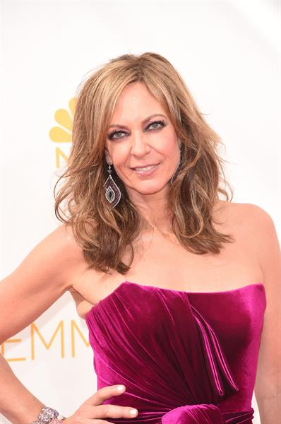 Allison Janney at the 66th annual Primetime Emmy Awards, August 25, 2014