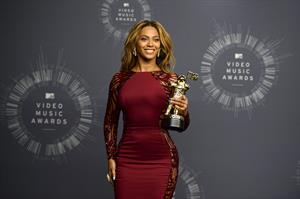 Beyonce attends 2014 MTV Video Music Awards, Inglewood August 2014