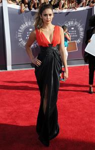 Nina Dobrev at 2014 MTV Video Music Awards, Inglewood August 24, 2014