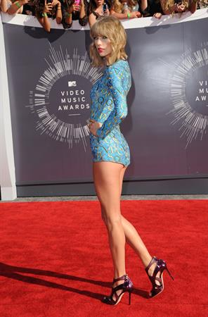 Taylor Swift at 2014 MTV Video Music Awards, Inglewood August 24, 2014