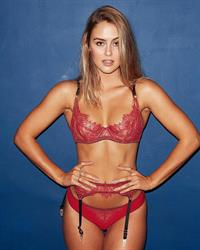 Stephanie Claire Smith in lingerie