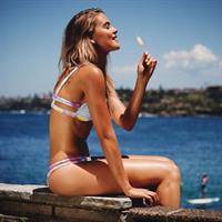 Stephanie Claire Smith in a bikini