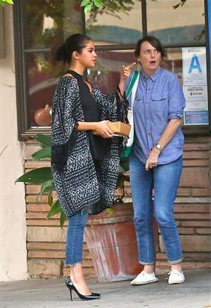 Selena Gomez out for dinner in L.A. August 21, 2014