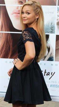 Olivia Holt Los Angeles premiere of If I Stay August 20, 2014