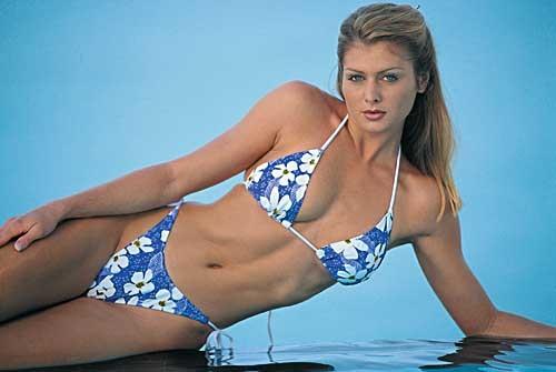 Kalin Olson in a bikini