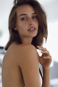 Johanne Landbo in a bikini