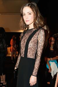Rose Byrne - Jill Stuart fashion show in New York - September 8, 2012