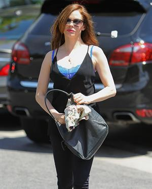 Rose McGowan Out & About In Studio City July 10, 2012