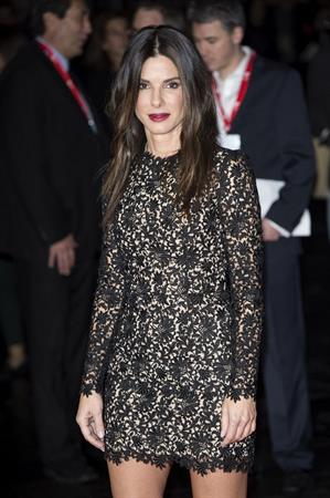 Sandra Bullock at 'Gravity' European premiere 7