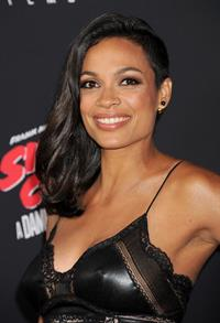 Rosario Dawson Sin City: A Dame to Kill For Los Angeles premiere August