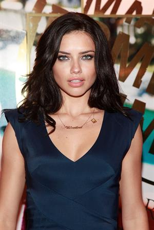 Adriana Lima at Victoria's Secret Bombshell Collection Launch in New York on May 19, 2011