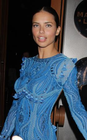 Adriana Lima Victorias Secret Fashion Show after party New York 10.11.11
