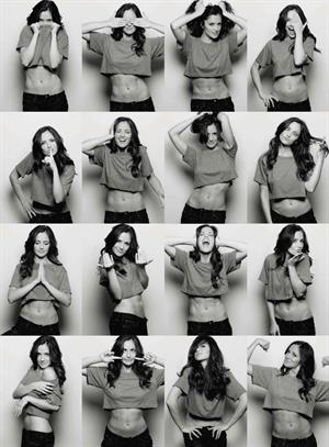 Minka Kelly Yu Tsai photoshoot 2010