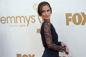 Minka Kelly 63rd annual Primetime Emmy Awards on September 18, 2011