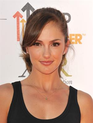 Minka Kelly Stand Up To Cancer benefit in Los Angeles - September 7, 2012