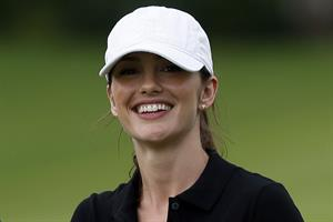 Minka Kelly Mission Hills World Celebrity Pro-Am golf tournament in Haikou - October 20, 2012