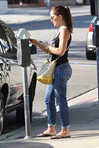 Minka Kelly in LA - August 22, 2012