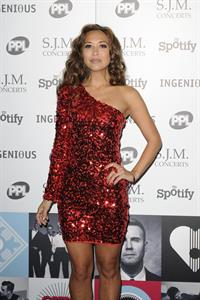 Myleene Klass Music Industry Awards, London - November 5, 2012