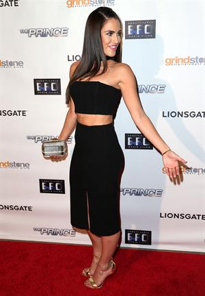 Jessica Lowndes at the premiere of The Prince in Hollywood August 18, 2014