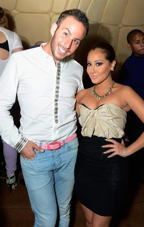 Adrienne Bailon at TW Steel Kelly Rowland special edition watch launch in New York on July 31, 2012