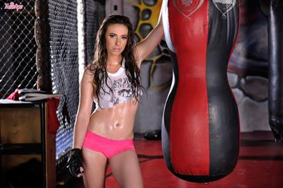 A Workout To Remember.. featuring Casey Calvert   Twistys.com
