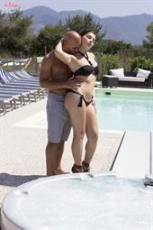 Hot At The Swimming Pool.. featuring Valentina Nappi | Twistys.com