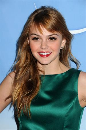 Aimee Teegarden NBC Universal Press Tour All Star Party on January 1, 2011