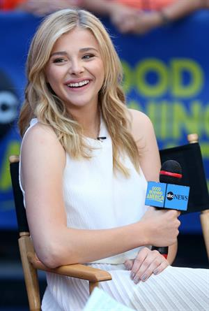 Chloe Moretz on Good Morning America August 18, 2014