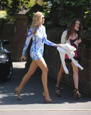 Abigail Clancy out about in liverpool 01 05 11