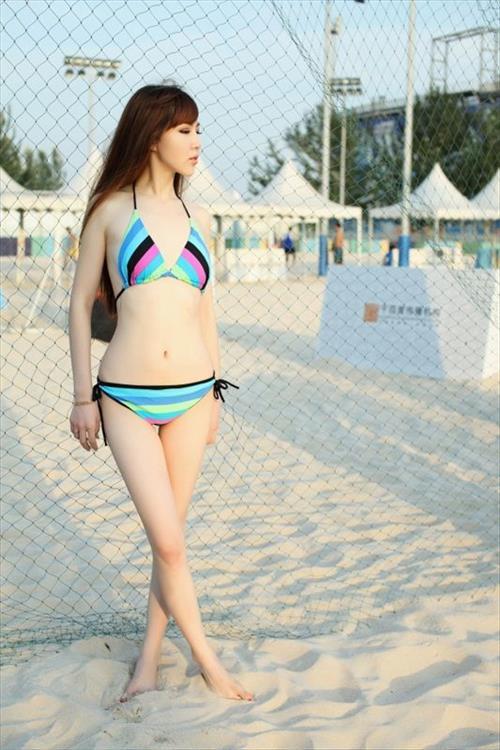 Latin charmian chen sexy bikini