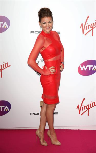 Agnieszka Radwanska WTA Pre-Wimbledon Party July 19, 2014