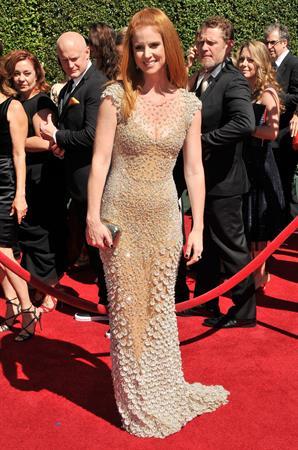 Sarah Rafferty 2014 Creative Arts Emmy Awards, Los Angeles August 16, 2014