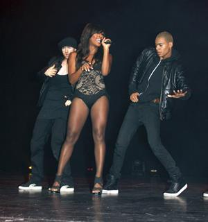 Alexandra Burke UDO Dance Championships Blackpool on August 30, 2010