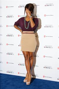 Alexandra Burke at Save the Children on January 24, 2011