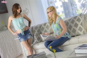Our Little Secret.. featuring Kiera Winters, Samantha Rone | Twistys.com