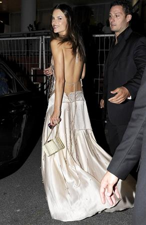 Alessandra Ambrosio attends the private dinner on Cavalli Yacht on May 18, 2011