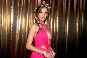 Alessandra Ambrosio Vogue Carnival party in Sao Paulo