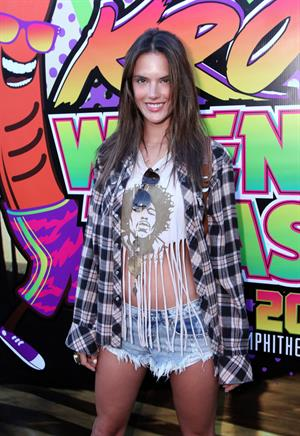 Alessandra Ambrosio 22nd Annual KROQ Weenie Roast in Los Angeles