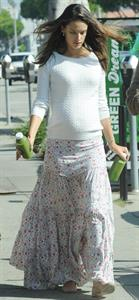 Alessandra Ambrosio at Country Mart in Brentwood on February 1, 2012