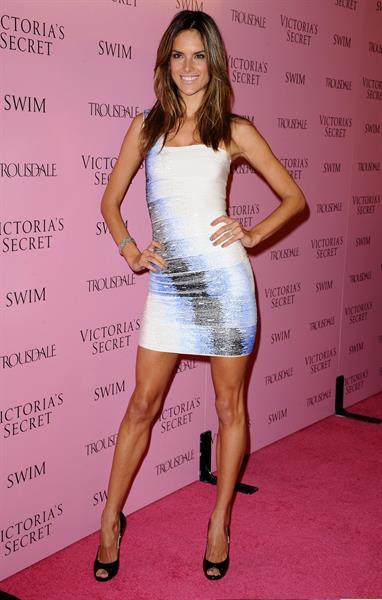 Alessandra Ambrosio Victoria's Secret celebrates the 15th anniversary of the Swim Catalogue on March 25, 2010