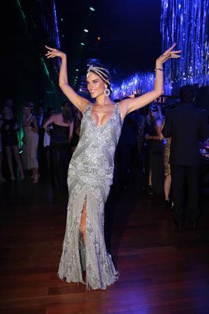 Alessandra Ambrosio Vogue's Pre Carnival party Sao Paulo on February 11, 2012