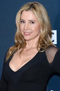 Mira Sorvino at the Doctor Who New York City premiere August 14, 2014