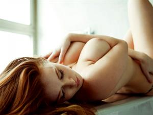 Leanna Decker Topless Playboy Photoshoot