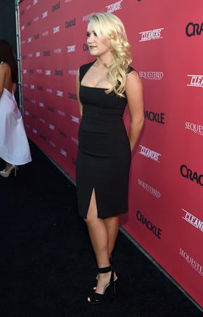 Emily Osment Crackle Original Series Summer premiere celebration, LA August 14, 2014