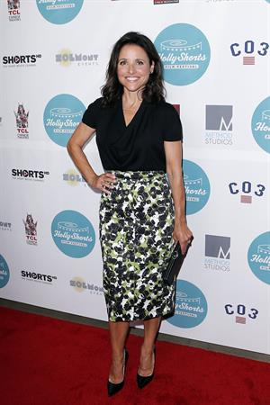 Julia Louis-Dreyfus 10th Annual HollyShorts Film Festivals Opening Night Celebration, LA Aug 14, 2014