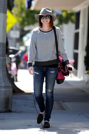 Alyson Hannigan Candids Out in Santa Monica - Apr. 1st, 2014